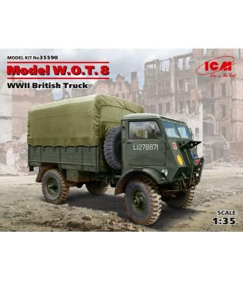 Model W.O.T. 8, Британский грузовой автомобиль ІІ МВ ICM 35590