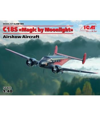 """C18S """"Magic by Moonlight"""", Американский демонстрационный самолет ICM 48186"""