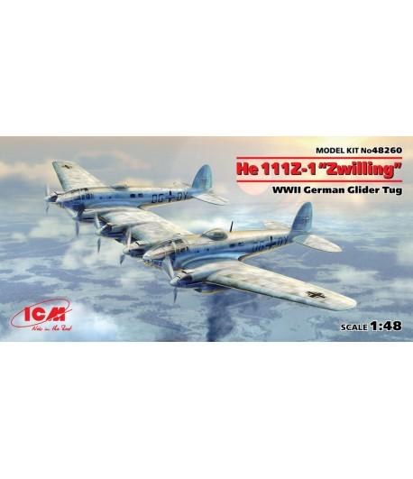"He 111Z-1 ""Zwilling"" WWII, Германский буксировщик планеров II МВ ICM 48260"