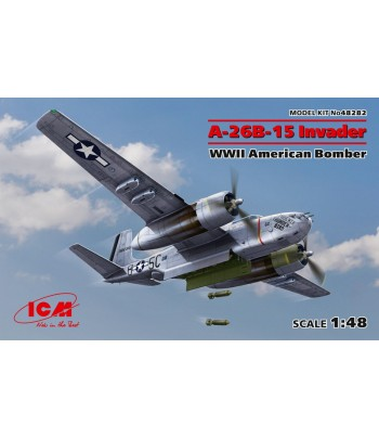 A-26B-15 Invader, Американский бомбардировщик 2 МВ ICM 48282
