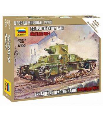 Британский пехотный танк Матильда МК-I ЗВЕЗДА 6191