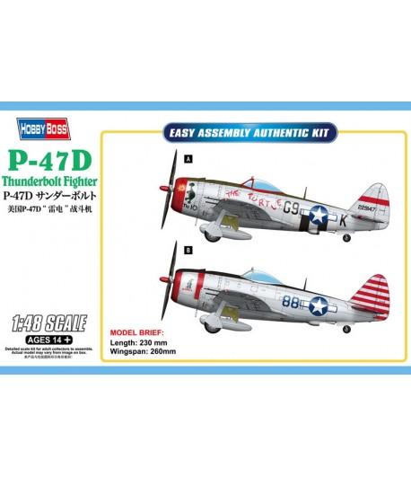 Самолет P-47D Thunderbolt Fighter HOBBY BOSS 85811