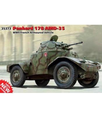 Panhard 178 AMD-35, Французский бронеавтомобиль 2MB ICM 35373