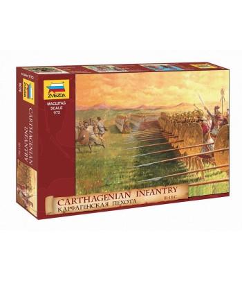 Карфагенская пехота III-I вв. до н.э. ЗВЕЗДА 8010