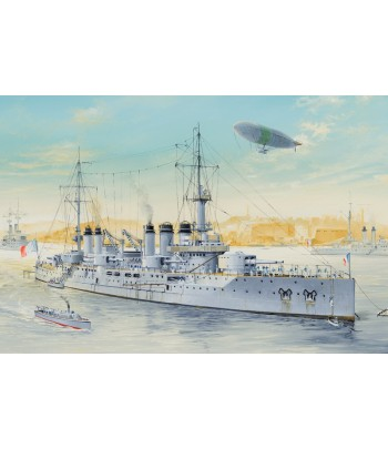French Navy Pre-Dreadnought Battleship Voltaire HOBBY BOSS 86504