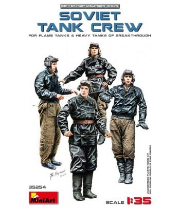 Советский танковый экипаж (для Огнеметных Танков и Тяжелых Танков Прорыва) MINIART 35254
