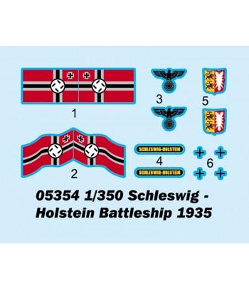Корабль Schleswig – Holstein Battleship 1935 TRUMPETER 05354
