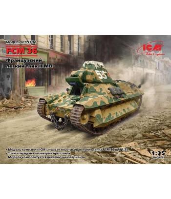Французский легкий танк FCM 36 ICM 35336