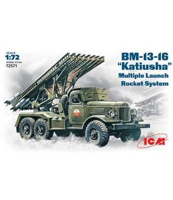 БМ-13-16 Катюша Советская РСЗО WWII ICM 72571