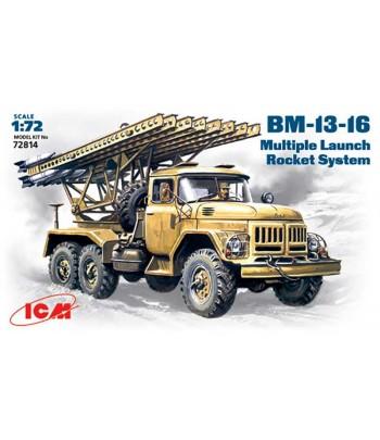 БМ-13-16 Ракетная система залпового огня ICM 72814