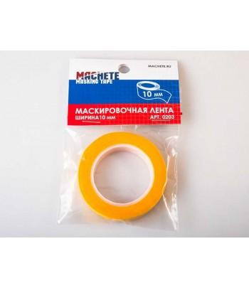 Маскирующая лента, ширина 10 мм MACHETE 0203