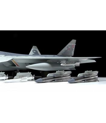 Российский многофункциональный истребитель пятого поколения Су-57 ЗВЕЗДА 4824