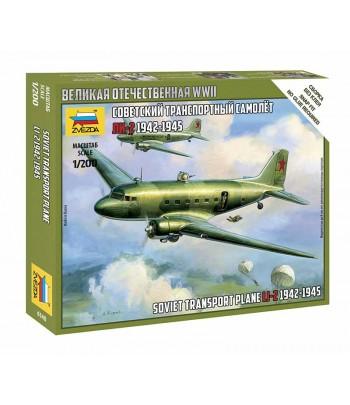 Советский транспортный самолет Ли-2 (1942-1945) ЗВЕЗДА 6140