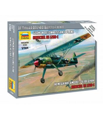 Немецкий самолет-разведчик Henschel Hs 126B-1 (Хеншель) ЗВЕЗДА 6184