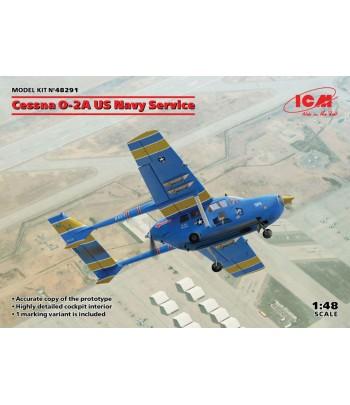 Cessna O-2A авиации флота США ICM 48291