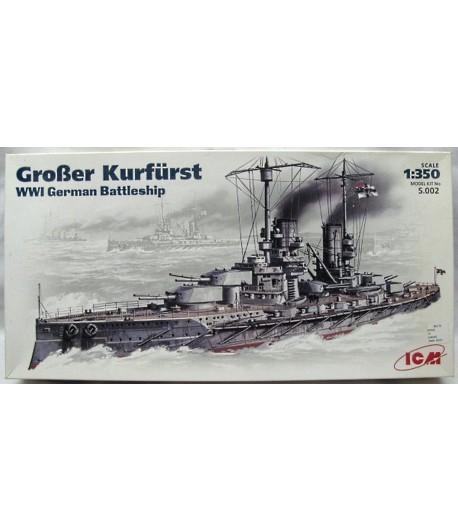 """Линейный крейсер """"Гроссер Курфюрст"""" ICMS.002"""
