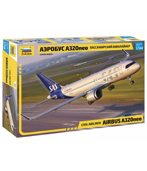 Пассажирский авиалайнер Аэробус А320neo ЗВЕЗДА 7037