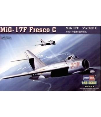 Самолёт MiG-17F Fresco C 1:48 HOBBY BOSS 80334