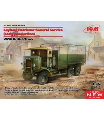 Британский грузовик Leyland Retriever General Servic (раннего производства) 1/35 ICM 35602