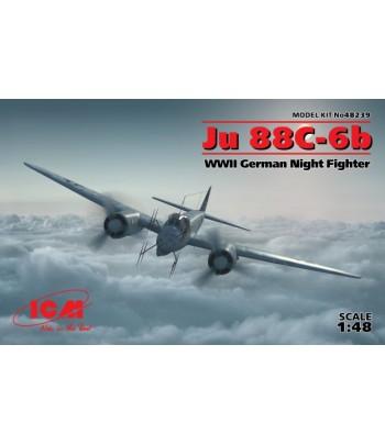 Ju 88С-6b, Германский ночной истребитель ІІ МВ 1/48 ICM 48239
