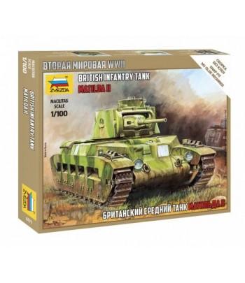 "Британский танк ""Матильда"" Мк-2 ЗВЕЗДА 6171"