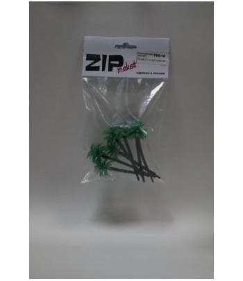 Королевская пальма 70 мм (7 штук) пластик ZIP-maket 70010