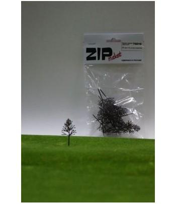 Каркас дерева овальный 40 мм (15 штук) пластик ZIP-maket 70016