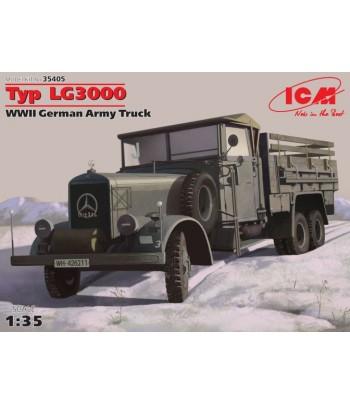 Тур LG3000, германский армейский грузовик 2МВ 1/35 ICM 35405