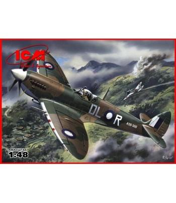 Спитфайр Mk. VIII, британский истребитель ІІ Мировой войны 1/48 ICM 48067