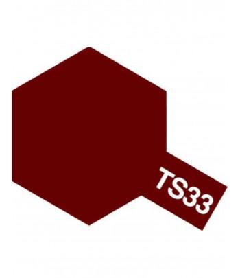 TS-33 Dull Red (спрей) TAMIYA 85033