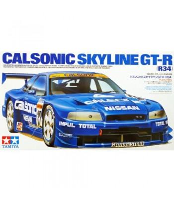 АвтомобильNissan Calsonic Skyline GT-R (R34) (1:24) TAMIYA 24219