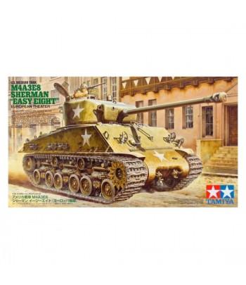 """Американский сред танк M4A3E8 Sherman """"Easy Eight"""" European Theater с фигурой танкиста. TAMIYA 35346"""