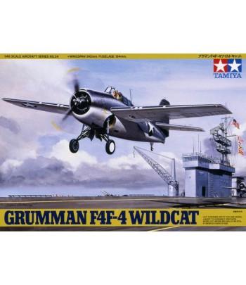Американский истребитель-бомбардировщик Grumman F4F Wildcat (1:48) TAMIYA 61034