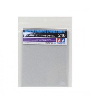 Наждачная бумага на поролоновой основе с зернистостью 240 TAMIYA 87162