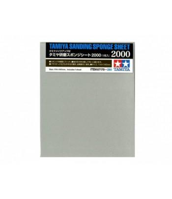 Наждачная бумага на поролоновой основе с зернистостью 2000 TAMIYA 87170