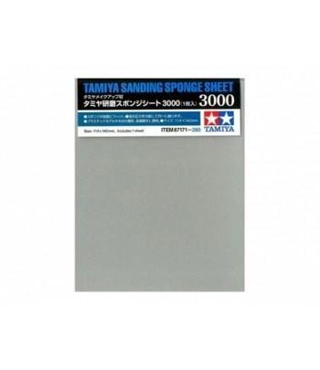 Наждачная бумага на поролоновой основе с зернистостью 3000 TAMIYA 87171