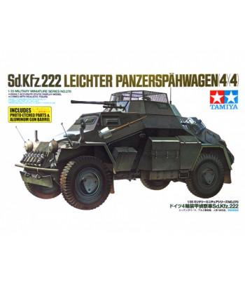 Немецкий бронеавтомобиль Sd.Kfz.222 Leichter Panzerspähwagen (1:35) TAMIYA 35270