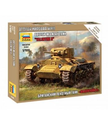 Британский пехотный танк «Валентайн» II ЗВЕЗДА 6280