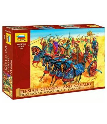 Персидская кавалерия и колесница IV-I вв. до н.э. ЗВЕЗДА 8008