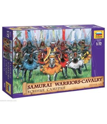 Конные самураи XVI-XVII вв. ЗВЕЗДА 8025