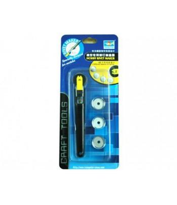 Прокатка для имитации заклепочных швов с 3 роликами MasterTools 09910