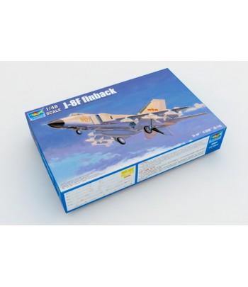 Китайский истребитель J-8F Finback 1/48 TRUMPETER 02847