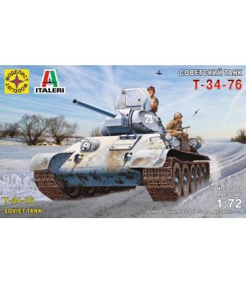 Советский танк Т-34-76 (1:72) МОДЕЛИСТ 307201