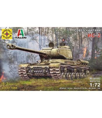 Советский танк ИС-2 (1:72) МОДЕЛИСТ 307202