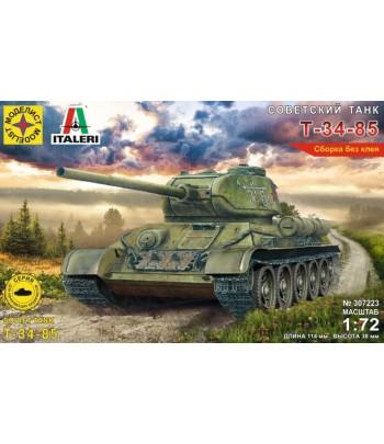 Советский танк Т-34-85 (1:72) МОДЕЛИСТ 307223