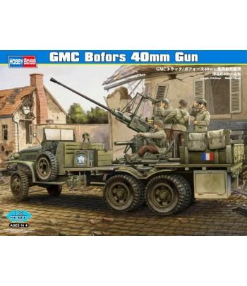 Автомобиль с орудием GMC Bofors 40mm Gun 1/35 HOBBY BOSS 82459