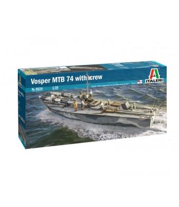 Торпедный катер с фигурками Vosper MTB 74 1/35 ITALERI 5624