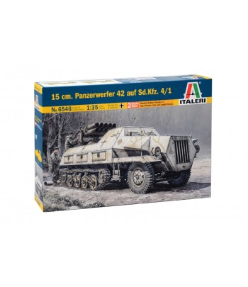 Бронетранспортер 15 cm. PANZERWERFER 42 Sd.Kfz. 4/1 ITALERI 6546