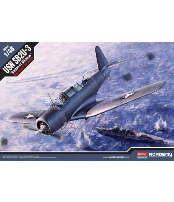 """СамолётSB2U-3 Vindicator """"Battle of Midway"""" ACADEMY12324"""