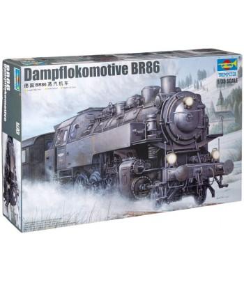 Паровоз (Dampflokomotive) BR86 1:35 TRUMPETER 00217